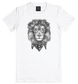 Man T-shirt LION FACE
