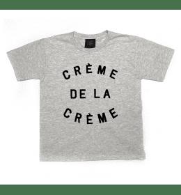 T-shirt Fille ou Garçon CRÈME DE LA CRÈME