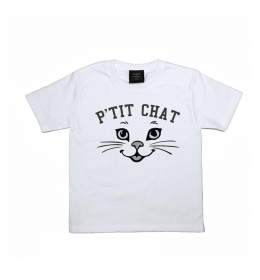 T-shirt Fille ou Garçon P'TIT CHAT