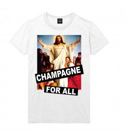 Man T-shirt CHAMPAGNE FOR ALL