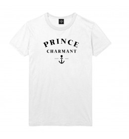 T-shirt homme PRINCE CHARMANT MODERNE