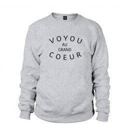 Man sweater  VOYOU AU GRAND COEUR