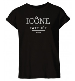 Woman T-shirt ICÔNE TATOUÉE